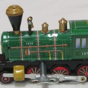 Train – Green Locomotive, length 12cm