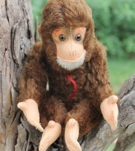Hermann Red, Monkey 25cm