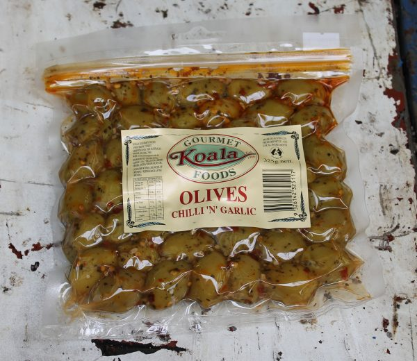 Chilli & Garlic Olives