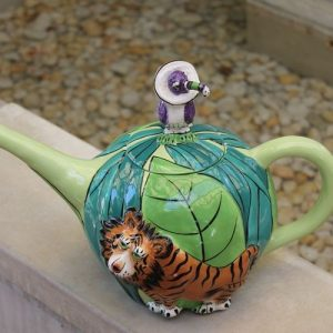 Tiger Teapot – Six Cups
