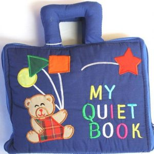 My Quiet Book – blue