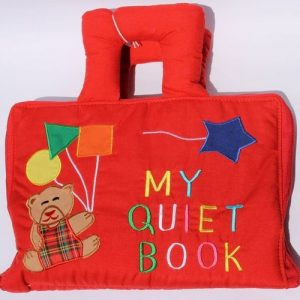 My Quiet Book – red