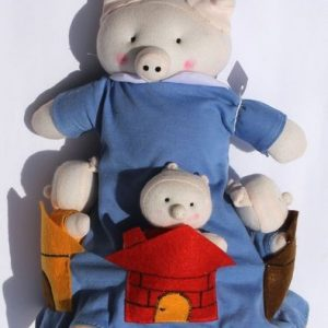 Three Little Pigs Flip-over Doll