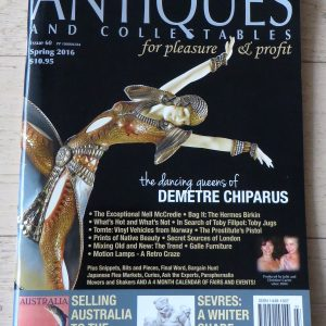 Magazine – Antiques and Collectables: for pleasure & profit