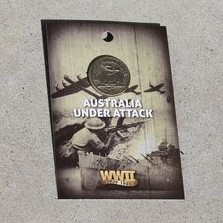 Badge – Australia Under Attack