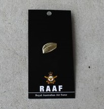 Badge – Air Force RAAF Cap Brass