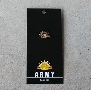 Badge – Army Rising Sun Gold