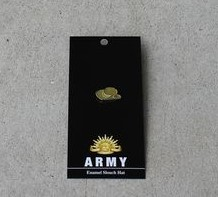 Badge - Army Slouch Hat Enamel