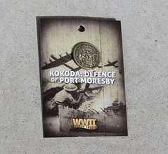 Badge - Kokoda: Defence of Port Morseby