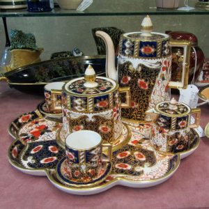 Coffee Set c1860s Davenport 'IMART PAT'