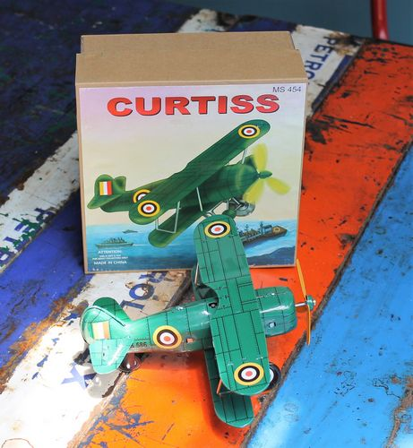 Tin Toy - Curtiss Plane