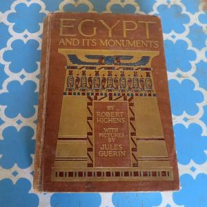 Book – Egypt & it's Monuments