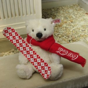Coca-Cola polar bear, small