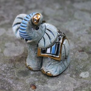 Elephant Blue/Grey Miniature – Rinconada