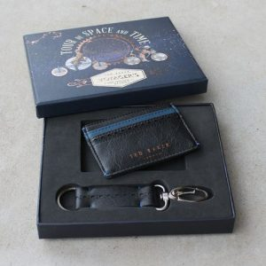 Ted Baker Voyager Card Holder & Keyring Set