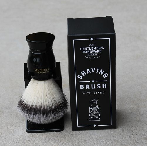Shaving Brush with Stand - Gentlemen's Hardware