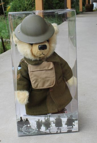 Teddy Bear - Sergeant Grey Wilson