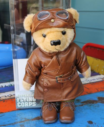 Teddy Bear - Lieutenant Hendy, Australian Flying Corps