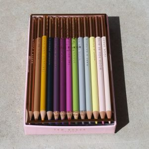 Ted Baker – Coloured Pencil 'Baker's Dozen' Set