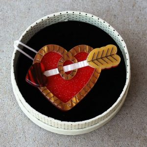 Erstwilder Brooch - A Shot Through the Heart