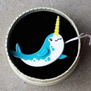 Erstwilder Brooch - Nina of the North (Narwhal)