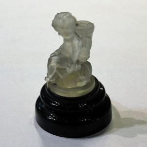 Lalique Toothpick Holder on Base