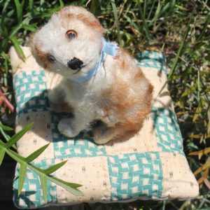 Steiff Molly Dog – vintage 10cm
