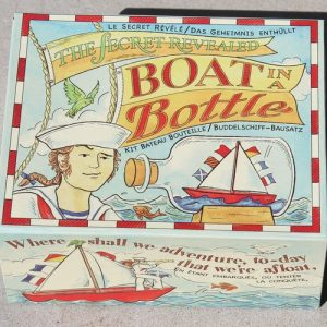 Boat in a Bottle - make your own