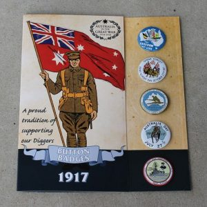 Button Badge Replica Set – 1917
