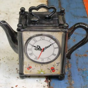 Carriage Clock Teapot
