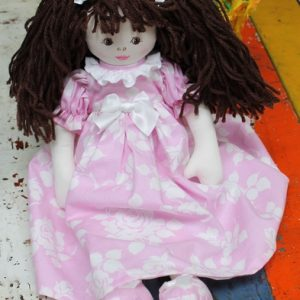Cloth Rag Doll – Cleo