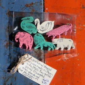 Erasers in Animal Shapes