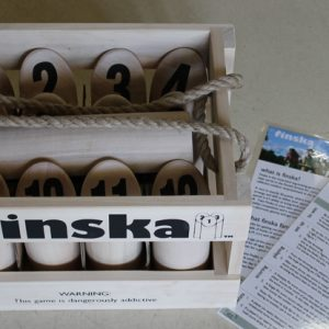 Finska - a log throwing game of strategy