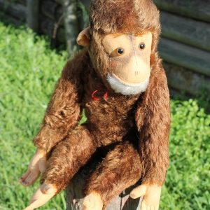 Monkey Chimpanzee - Hermann Red 48cm.