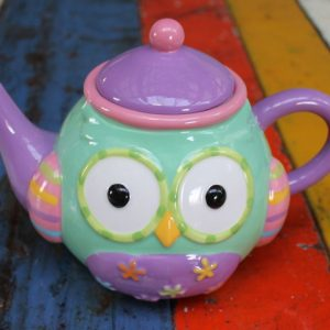 Owl – Colourful Owl Teapot