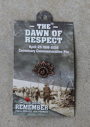 Lapel Pin - Dawn of Respect Rising Sun