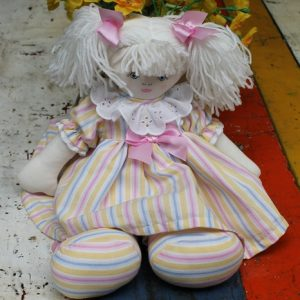 Cloth Rag Doll – Sally Ann