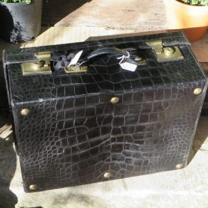 Suitcase – Crocodile Leather