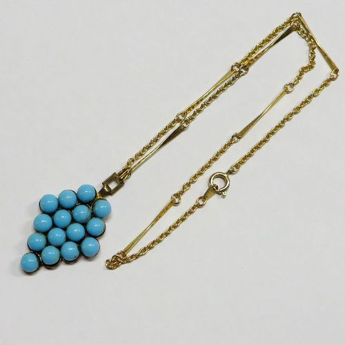 Turquoise Coloured Necklace