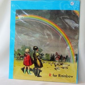 Book Plate – R for Rainbow