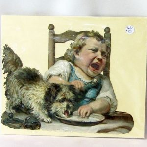 Scrap – Crying Child with Dog