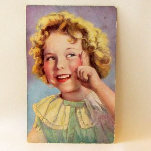 Postcard – Shirley Temple Exmouth