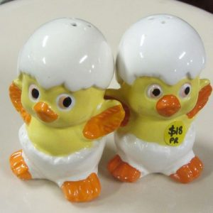 Vintage, Yellow Chicks Salt & Pepper, Shop 5