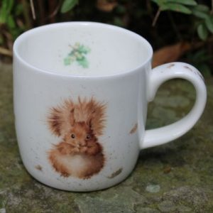 Treetops Squirrel Mug