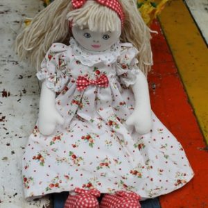 Cloth Rag Doll – Stephanie