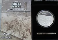 Medallion – Battle of Romani Sinai Desert Light Horse