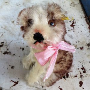 Steiff Molly Dog – 10cm Vintage