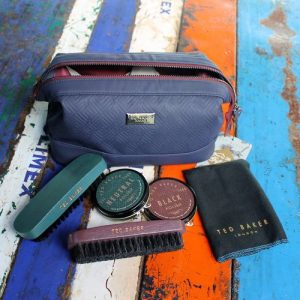 Shoe Shine Kit – Teal