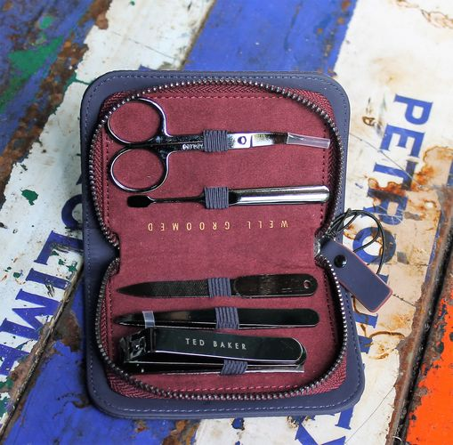 morpeth gift gallery hunter valley ted baker accessory manicure kit travel set nail case well groomed