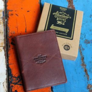 Travel Wallet – Brown Leather